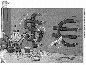 dollar.euro.sinking