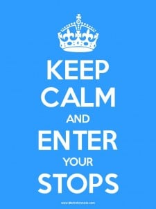 keepcalm 225x300 Keep Calm and Enter Your Stops